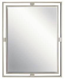 Hendrik Rectangular Mirror Brushed Nickel