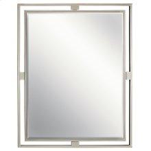 Hendrik Rectangular Mirror Brushed Nickel