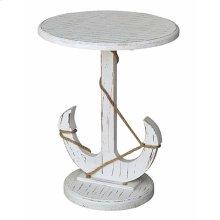Bayside Blue Shell Anchor Table