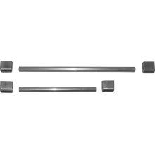 Metal handle kit Stainless steel