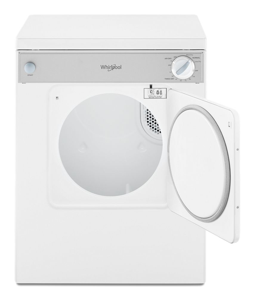 Ldr3822pq Whirlpool 3 4 Cu Ft Compact Top Load Dryer
