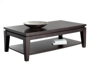 Asia Rectangular Coffee Table - Espresso Product Image