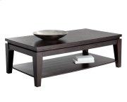 Asia Rectangular Coffee Table - Espresso Product Image