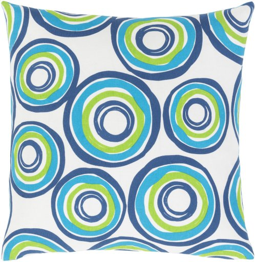 "Miranda MRA-005 22"" x 22"" Pillow Shell with Polyester Insert"