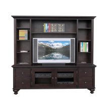 Georgetown 84'' HDTV Cabinet With Hutch