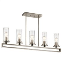 Kayde Collection Kayde Linear Chandelier 5 Light CLP
