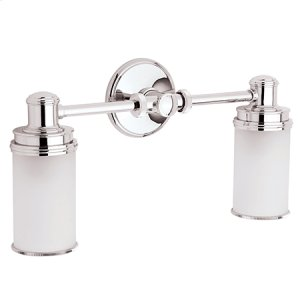 Satin Nickel Double Light
