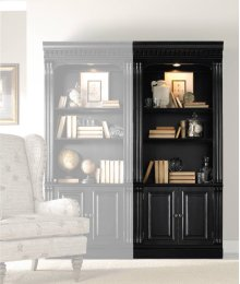 Telluride Bunching Bookcase (w/doors)