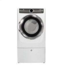 CLOSEOUT ITEM: Front Load Perfect Steam™ Electric Dryer with Instant Refresh and 9 cycles - 8.0 Cu. Ft.
