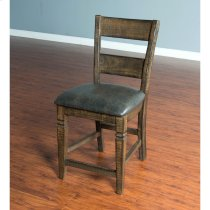 "Homestead 24"" Ladderback Barstool Product Image"