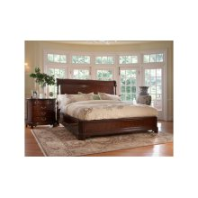 Charleston Platform Panel Queen Bed