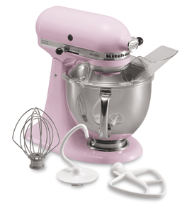 Cook for the Cure® Edition Artisan® Series Tilt-Head Stand Mixer Flour Power™ Rating - 9 Cup