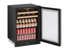 """1000 Series 24"""" Beverage Center With Integrated Frame Finish and Field Reversible Door Swing (115 Volts / 60 Hz)"""