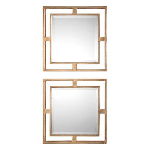 Allick Square Mirrors, S/2