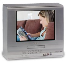 "14"" Diagonal Flat TV/DVD Combination"