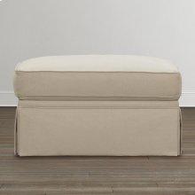 Custom Upholstery Medium Ottoman