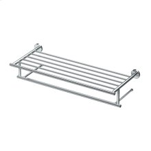 Latitude2 Minimalist Towel Rack in Chrome