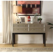 Anthology Irene Anitque Silver Console Table