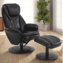 Black Breathable Air Leather (Black)