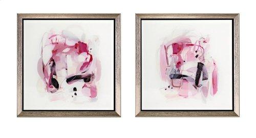 TY Ella Acrylic Framed Wall Decor w/easel - Ast 2