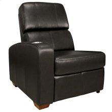 Black Left Arm Reclining Chair