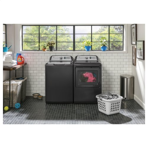 GE® 4.9 cu. ft. Capacity Washer with Stainless Steel Basket