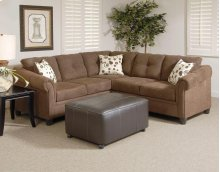 Sienna Chocolate Sectional