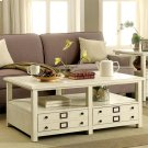 Sullivan - Coffee Table - Country White Finish Product Image