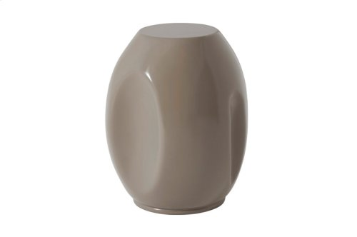 Dimple Drinks Accent Table, Graystone