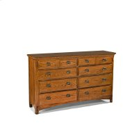 Bedroom - Pasadena Revival Eight Drawer Dresser Product Image