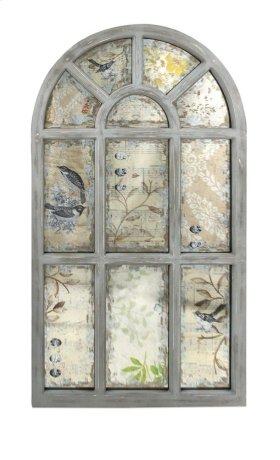 Ella Elaine Antiqued Wall Mirror