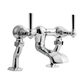 Waldorf Metal Lever Exposed Two Handle Tub Faucet