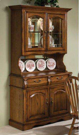 Classic Oak Small China Cabinet
