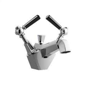 Waldorf Black Single Lever Lavatory Faucet