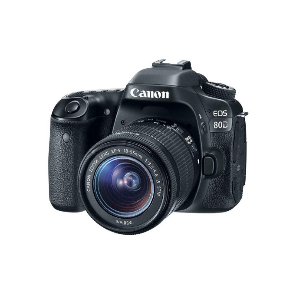 Canon EOS 80D EF-S 18-55mm f/3.5-5.6 IS STM Lens Kit Digital SLR Camera