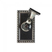 Corbel Rectangular Handrail Bracket White Bronze Medium