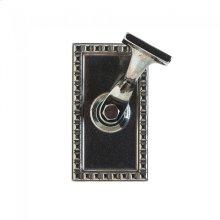 Corbel Rectangular Handrail Bracket Silicon Bronze Brushed