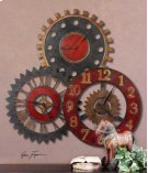 Rusty Movements Wall Clock Product Image