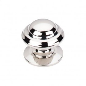 Empress Knob 1 3/8 Inch - Polished Nickel