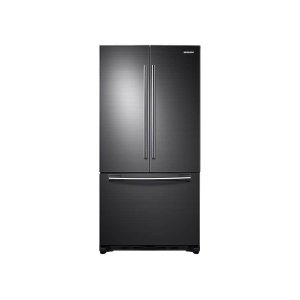 Samsung20 cu. ft. French Door Refrigerator in Black Stainless Steel