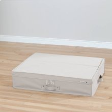 Canvas Underbed Storage Box - Beige