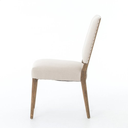 Dark Linen Cover Kurt Dining Chair