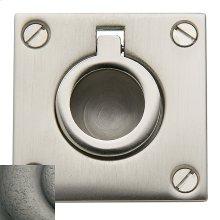 Distressed Antique Nickel Flush Ring Pull