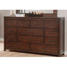 Artesia Dark Cocoa Six-drawer Dresser