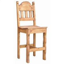 """26"""" Wood Seat Barstool"""