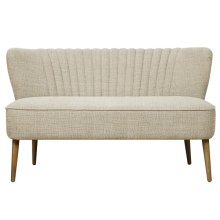 Uph Channel Mid-Cent LS - Oatmeal Beige
