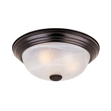 """15"""" Large Flushmount in Oil Rubbed Bronze"""