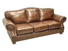 Rustic Rust Sofa