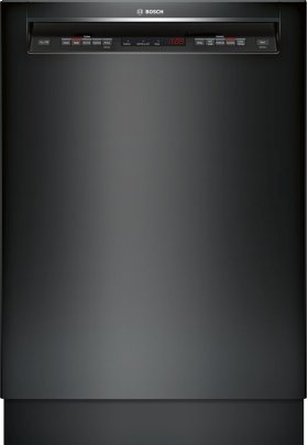 """24"""" Recessed Handle Dishwasher 500 Series- Black SHE65T56UC"""