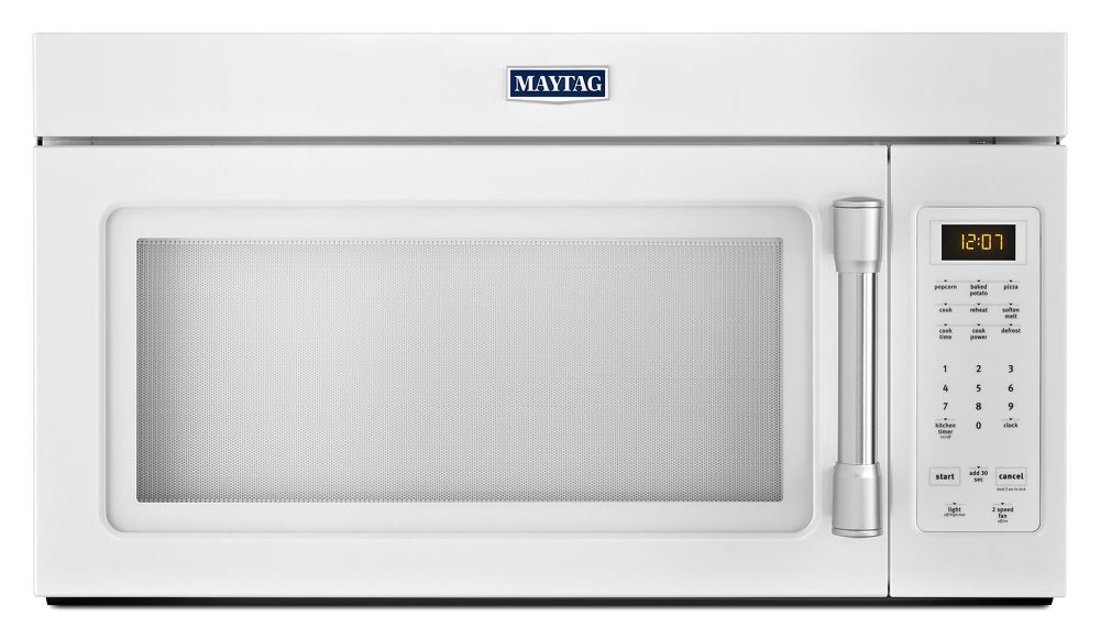 Compact Over The Range Microwave   1.7 Cu. Ft.   WHITE
